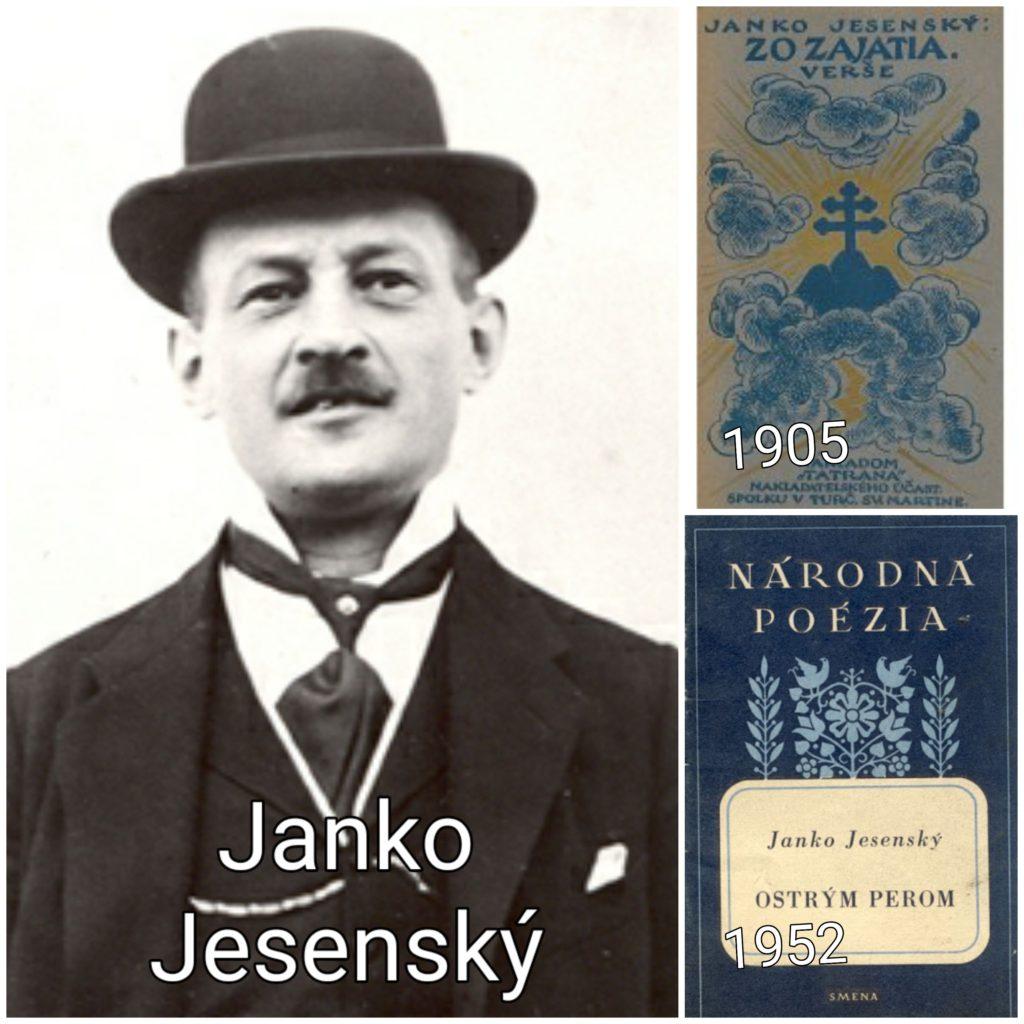 Šľachtický básnik a rozprávač – JUDr. Janko Jesenský