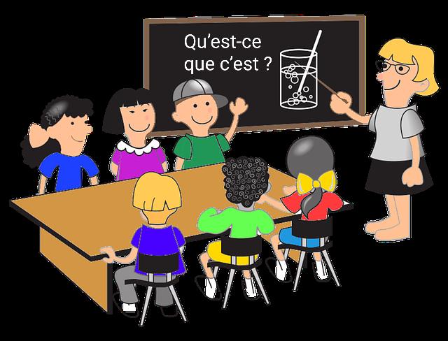 51 základných komunikačných francúzskych fráz v triede